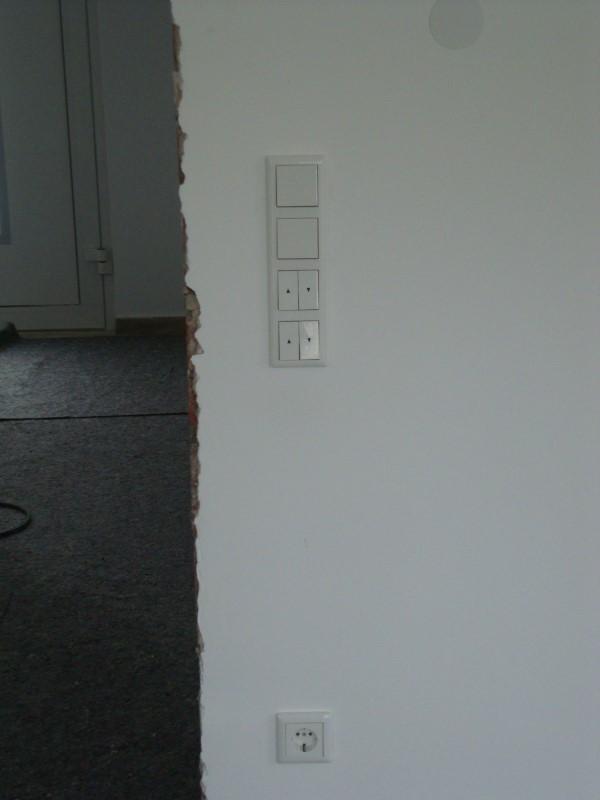 erneuerung der kompletten elektroinstallation im einfamilienhaus elektriker notdienst. Black Bedroom Furniture Sets. Home Design Ideas